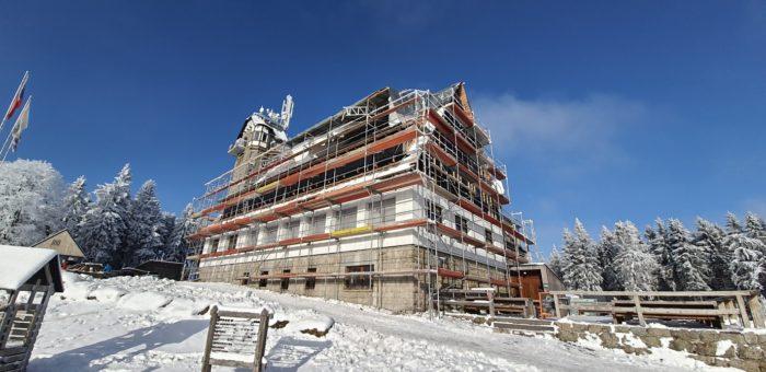 Hotelový komplex Královka – Rekonstrukce chaty – Bedřichov