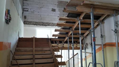 nové schodiště pro nástvabu
