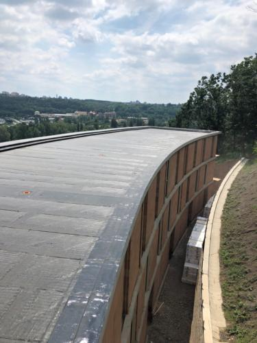parozábrana střechy D