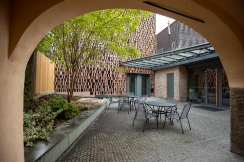 vnitřní atrium informačního centra